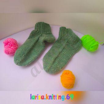 Носки детские вязанные